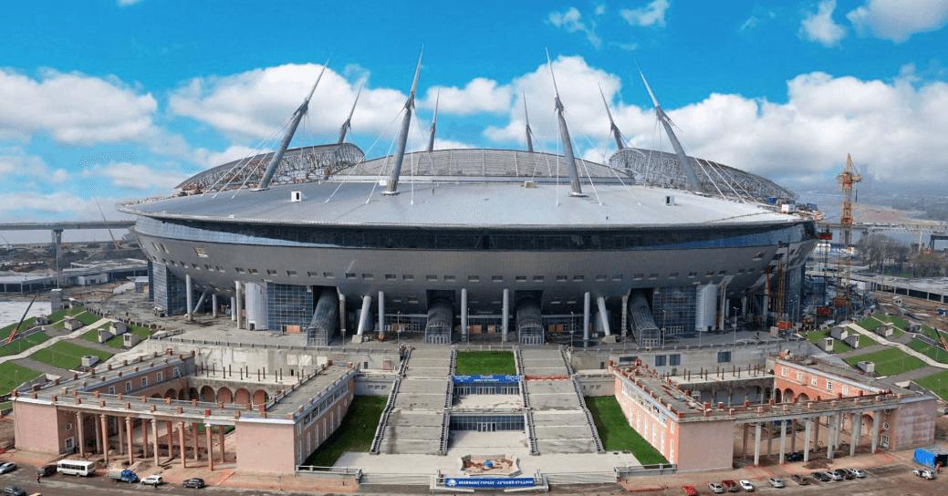 Krestovsky Stadion sint petersburg