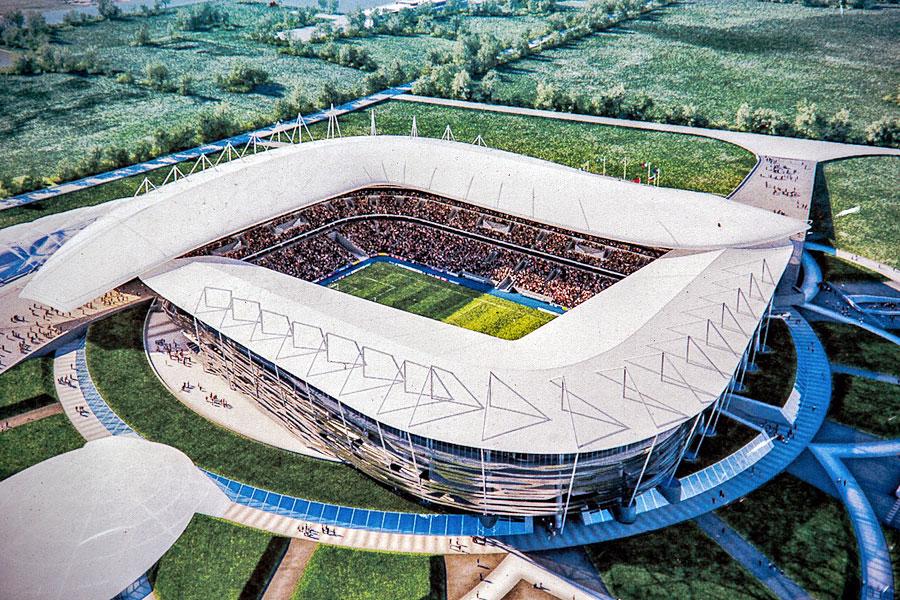 Rostov arena stadion wk 2018 rostov aan de don