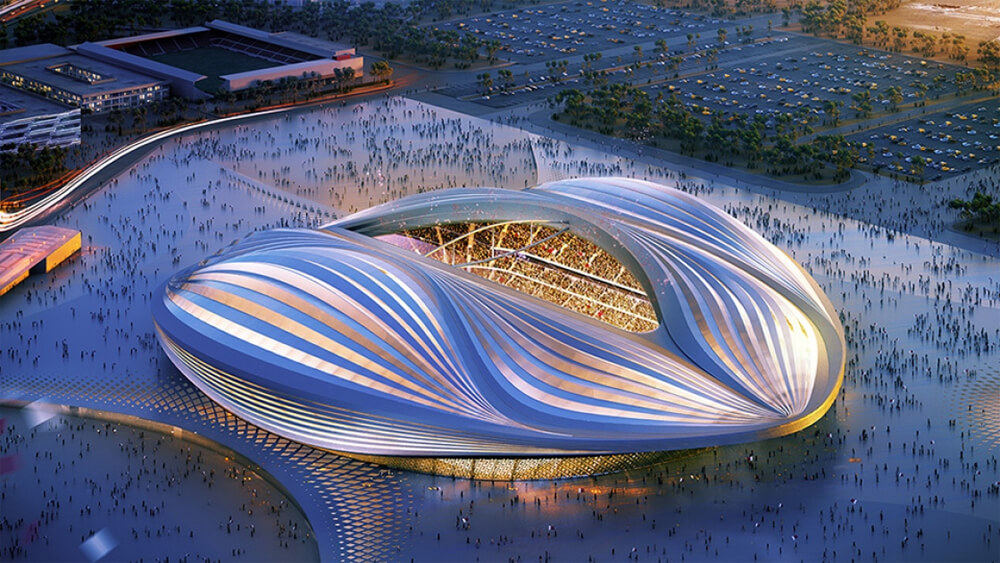 wk 2022 qatar stadion al wakrah