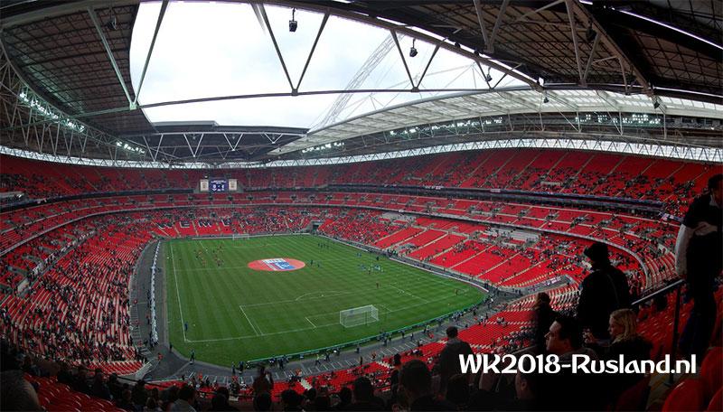 Wembley EK 2020 het toneel van Finale