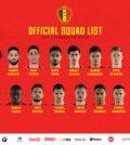 selecties WK 2018
