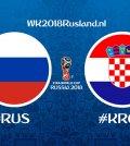 opstellingen rusland kroatie wk 2018