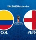 tussenstand colombia engeland wk 2018